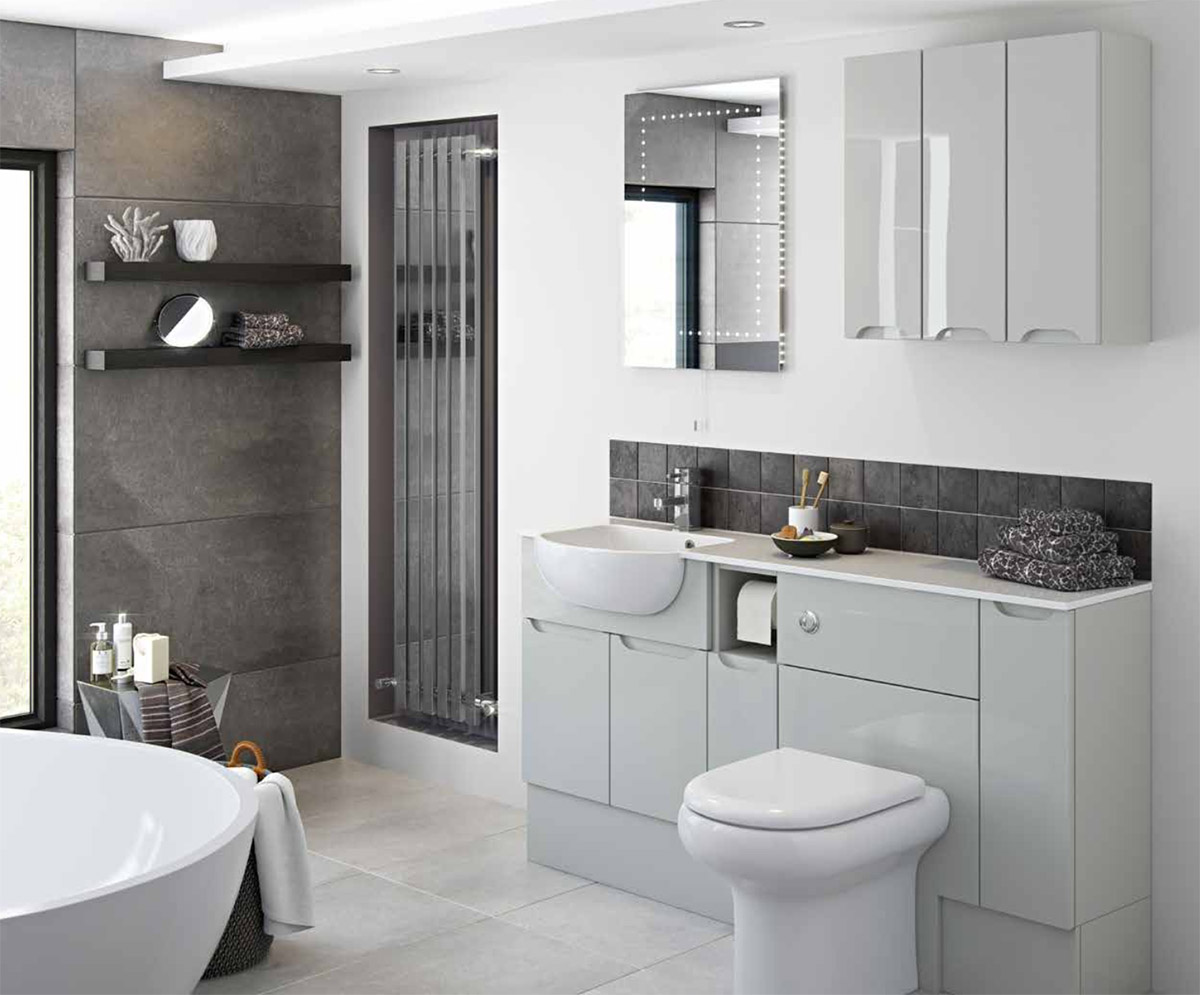 Bathroom furniture bromsgrove fitted bathrooms kookaburra for Pictures of fitted bathrooms